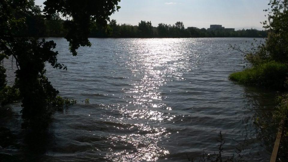 Jeden z rybníků lokality zapsané v seznamu Natura 2000