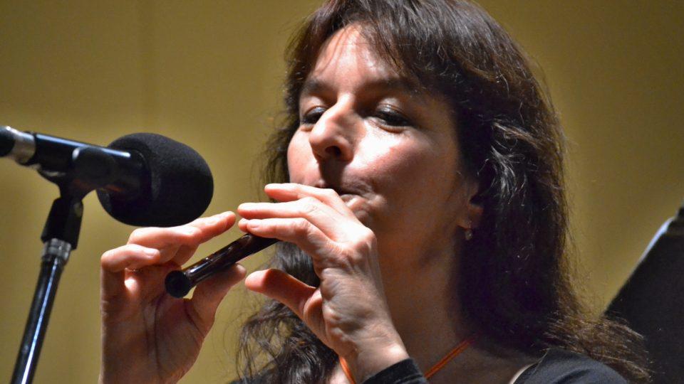 Kateřina Štruncová z Cimbal Classic s méně obvyklým nástrojem