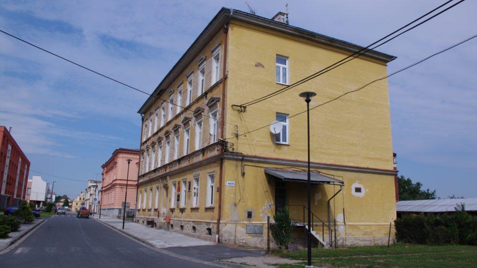 Budova pošty ve Vidnavě