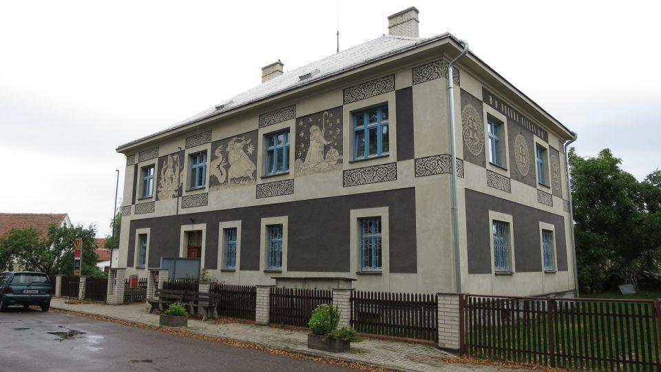 Obecní úřad v Uhersku