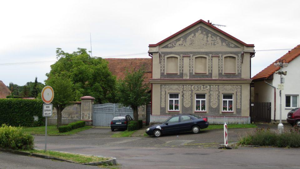 Rodný dům Aloise Mudruňky v Uhersku