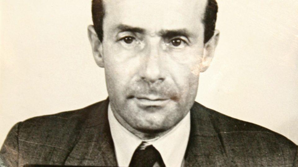František Lederer na fotce pražského gestapa
