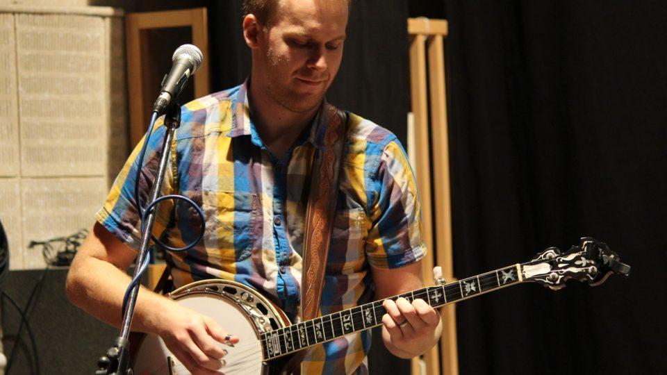 Lukáš Balatka na banjo