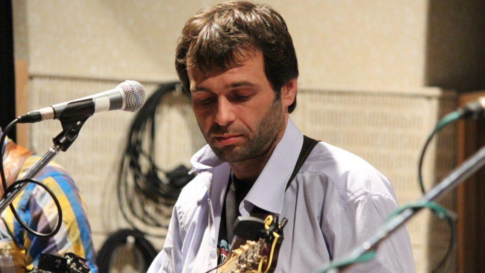 Martin Ješeta na mandolínu