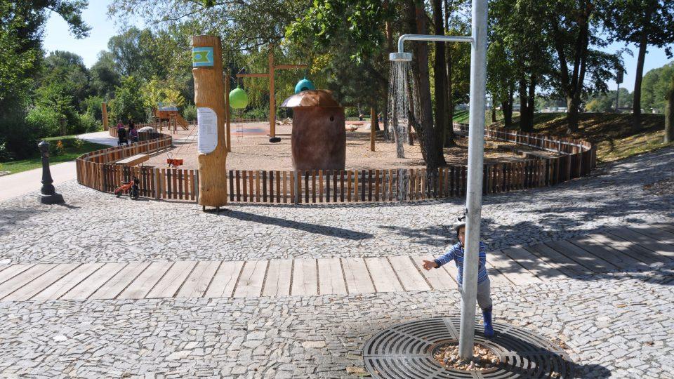 Park Na Špici v Pardubicích
