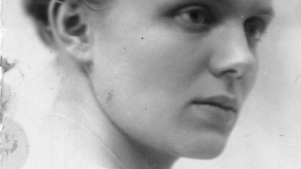 Marga Himmlerová, rodným jménem Margarete Siegroth Bodenová, manželka Heinricha Himmlera (1918)