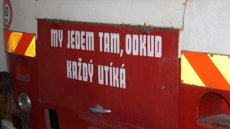 Hasičské motto