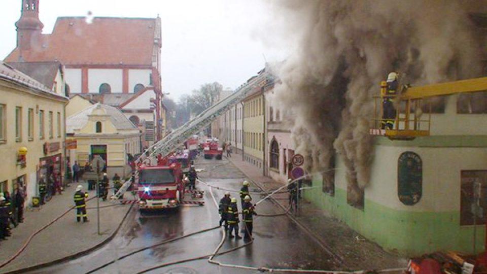 Zásah v Hotelu Morava