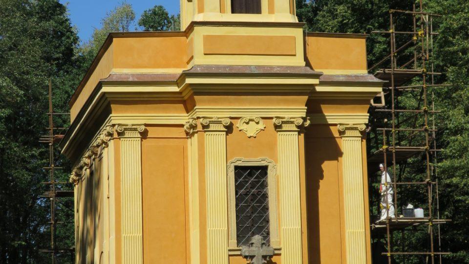 Loretánská kaple ve Vlašimi, kam můžete na kole dojet na pouť