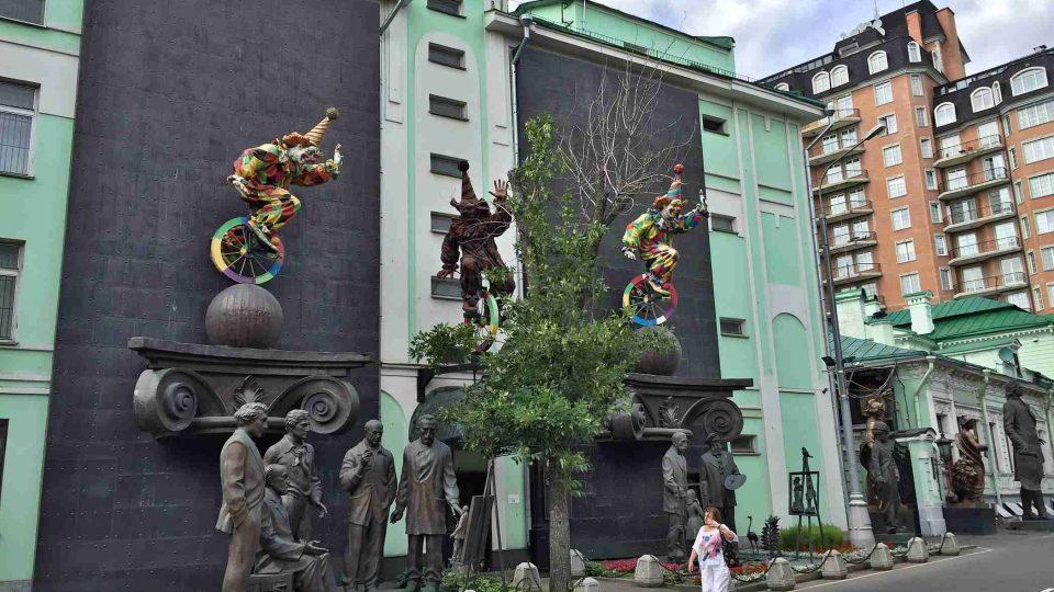 Jak vypadá dnešní Moskva, dokumentoval přímo v ulicích ruské metropole náš zpravodaj