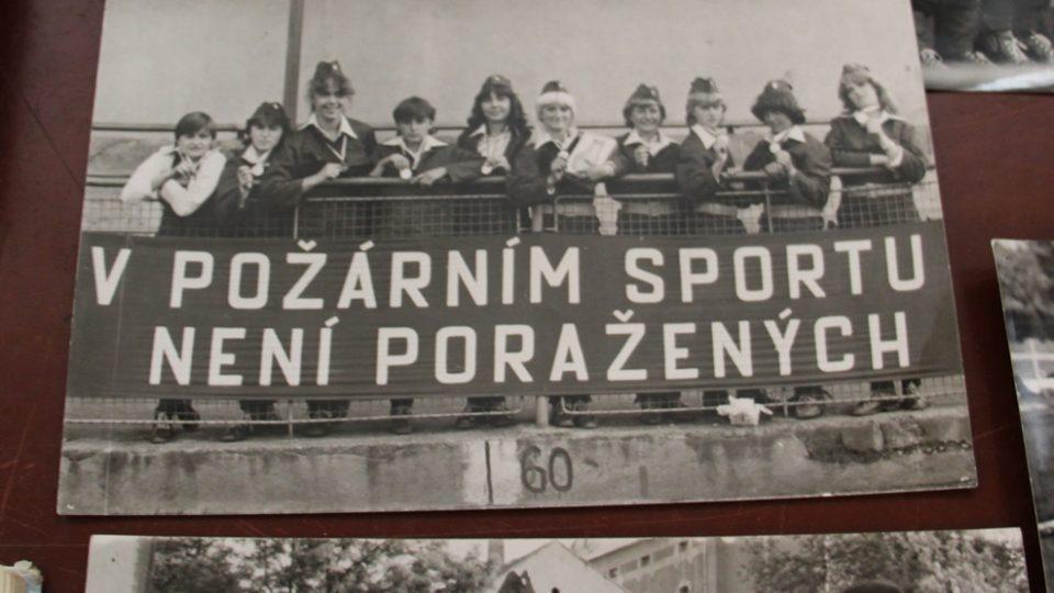 SDH Borovany bojuje v soutěži Dobráci roku. V klubovně je nepřeberné množství historických materiálů