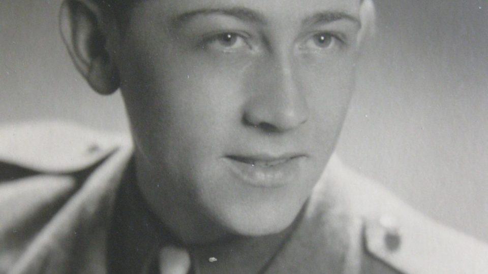 Václav Mastný v roce 1945