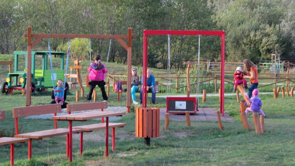 Dětské integrované hřiště