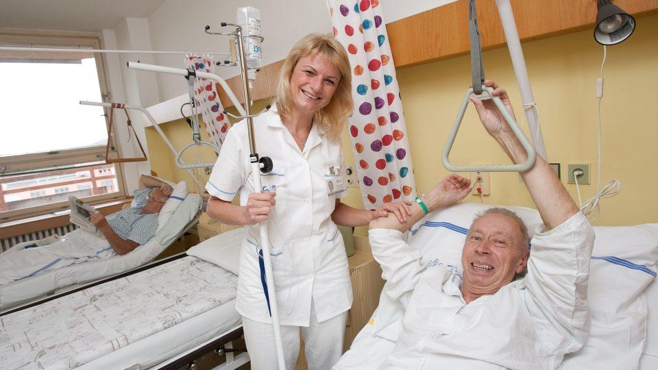 Andrea Radomská ve Fakultní nemocnici Ostrava