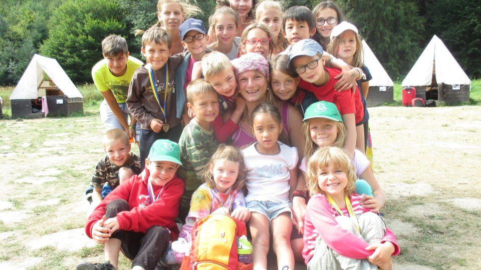 S dětmi z horolezeckého oddílu Startík
