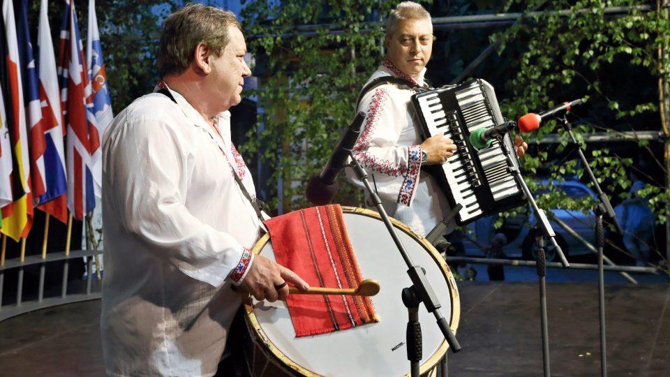 Muzikanti souboru Shopski, Elin Pelin (Bulharsko)