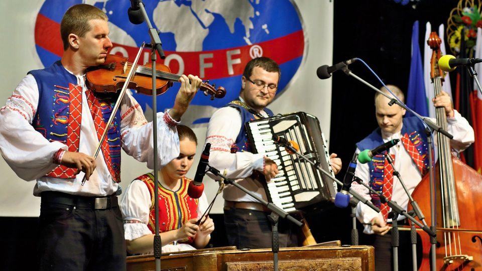 Lidová muzika souboru Jahodná, Košice (Slovensko)