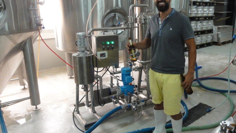 Alá Sájidž ve svém pivovarnickém království
