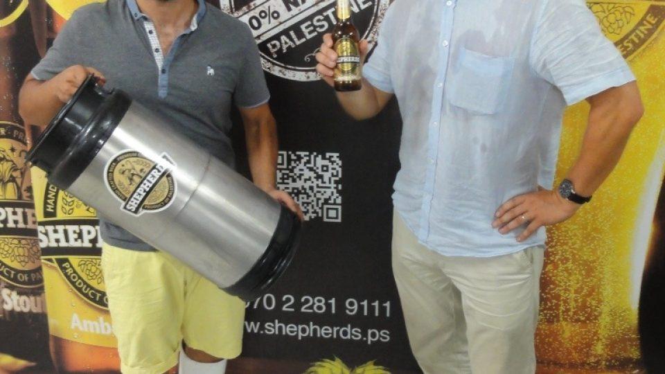 Hrdé a dobré palestinské pivo