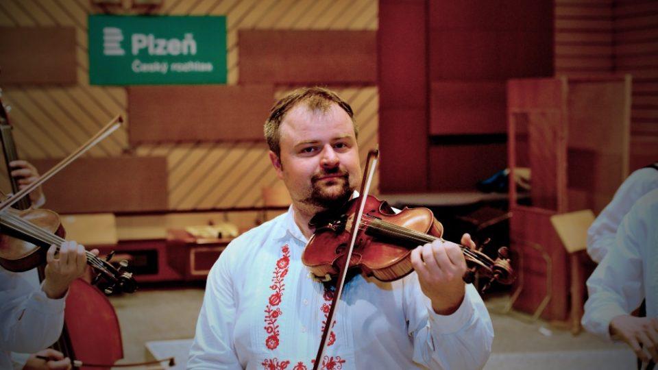 Vedoucí muziky Milan Brouček