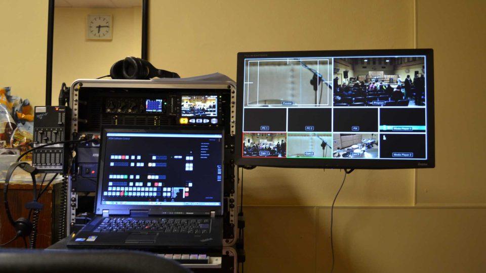 Video přenos připraven, poprvé na více než jednu kameru