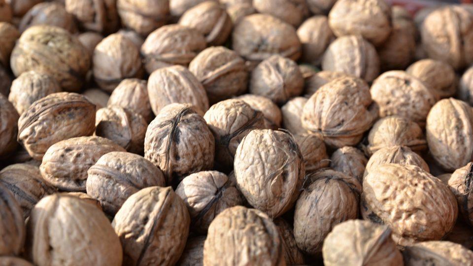 Vlašské ořechy jsou pro naše zdraví velmi přínosné
