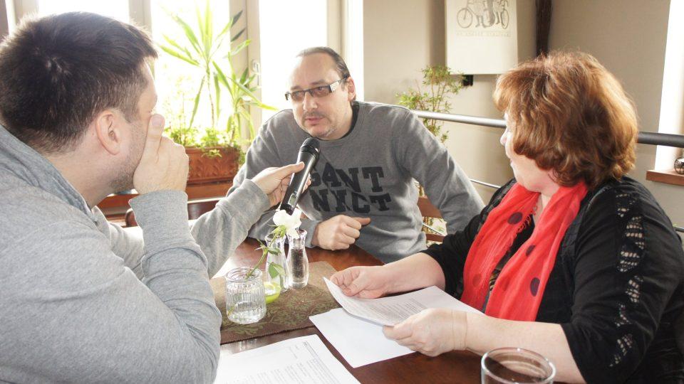 Patrik Rozehnal, Marián Vojtko a Naďa Konvalinková