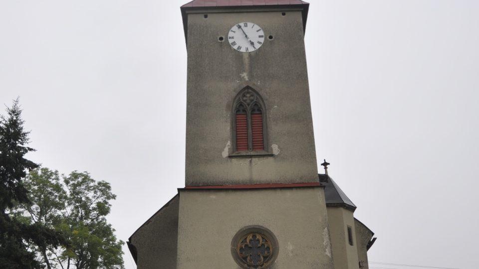 Kostel v Kuněticích