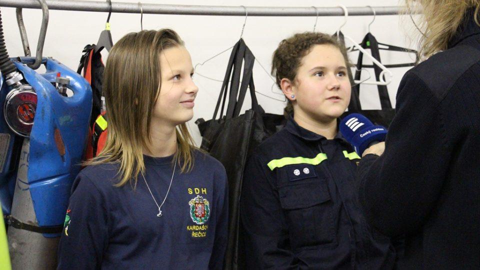SDH Kardašova Řečice bojuje v soutěži Dobráci roku. Sbor si vychovává mladé hasiče