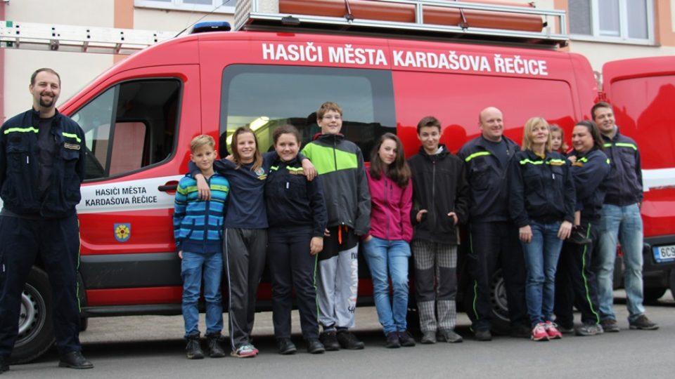 SDH Kardašova Řečice bojuje v soutěži Dobráci roku