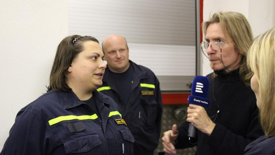 SDH Kardašova Řečice bojuje v soutěži Dobráci roku. Lenka Heřmánková je jednou ze dvou žen v zásahové jednotce