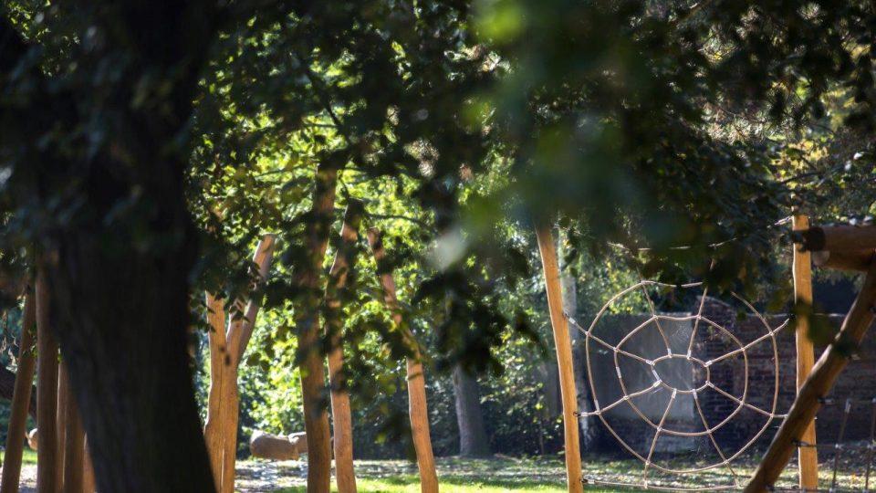 Dětské hřiště v Tyršových sadech