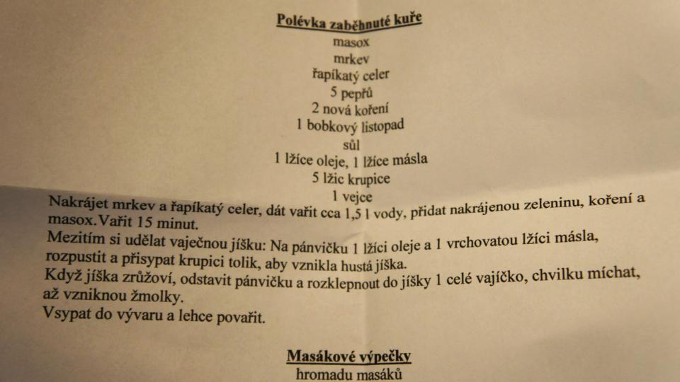 Recept na zaběhnuté kuře Petra Rezka