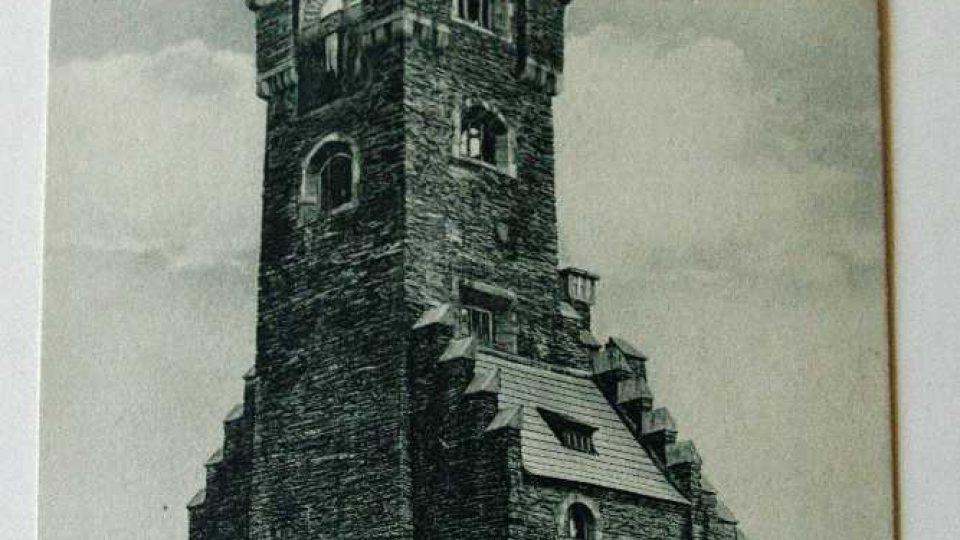 Původní stavba byla na Pradědu zkolaudována v roce 1912