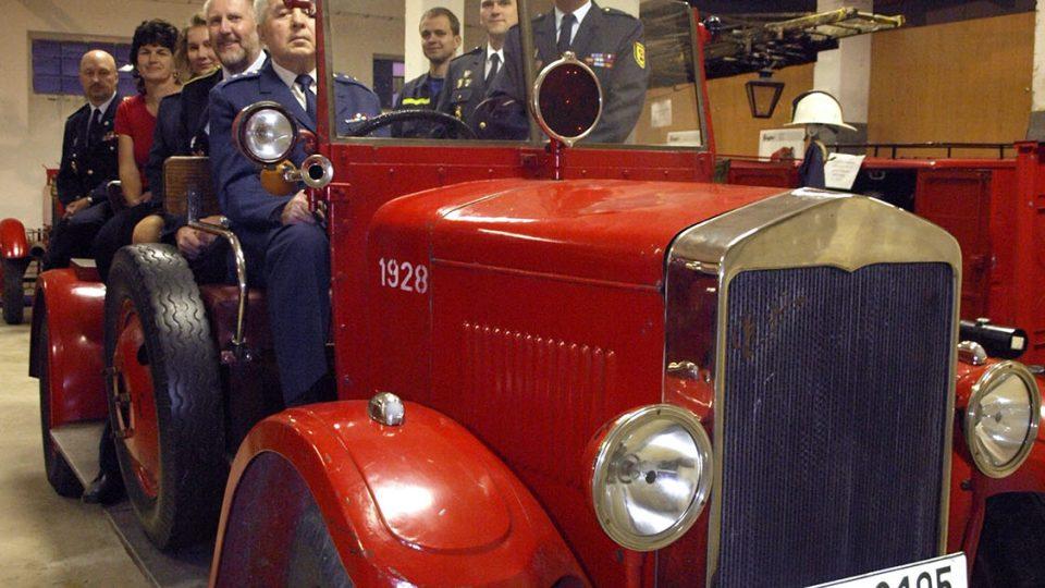 Historický automobil Praga AN