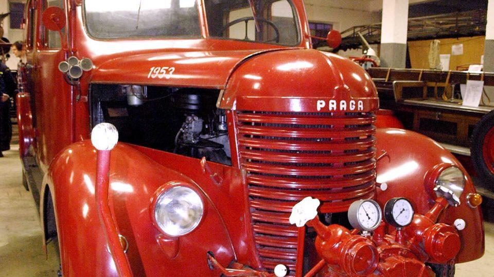 Historický automobil Praga RN