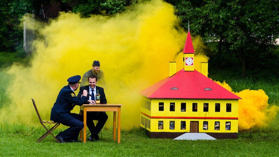 Na hasičských akcích musí být i trocha zábavy