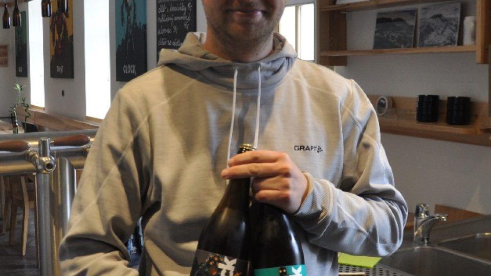 Majitel pivovaru v Potštejně Jiří Andrš