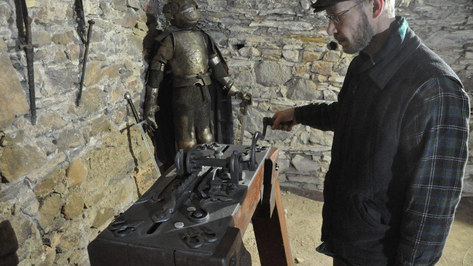 Mincovna na hradě Potštejn