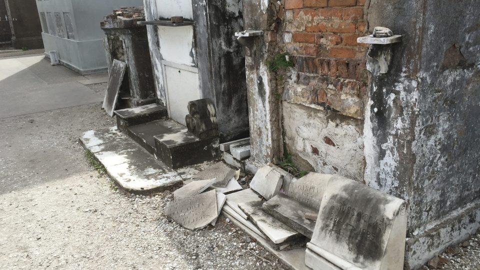 Hřbitov Sv. Ludvíka č. 1 v New Orlenas je častým cílem turistů