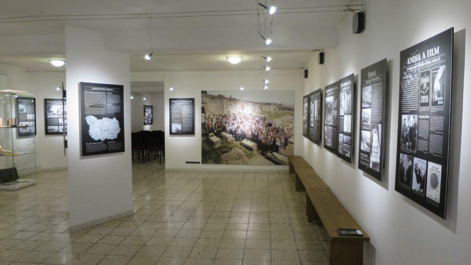Pohled do expozice Hledání hvězdy Davidovy Městského muzea ve Svitavách