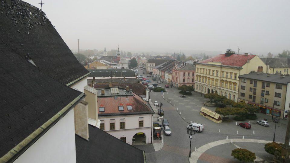 Svitavské náměstí měří 670 metrů