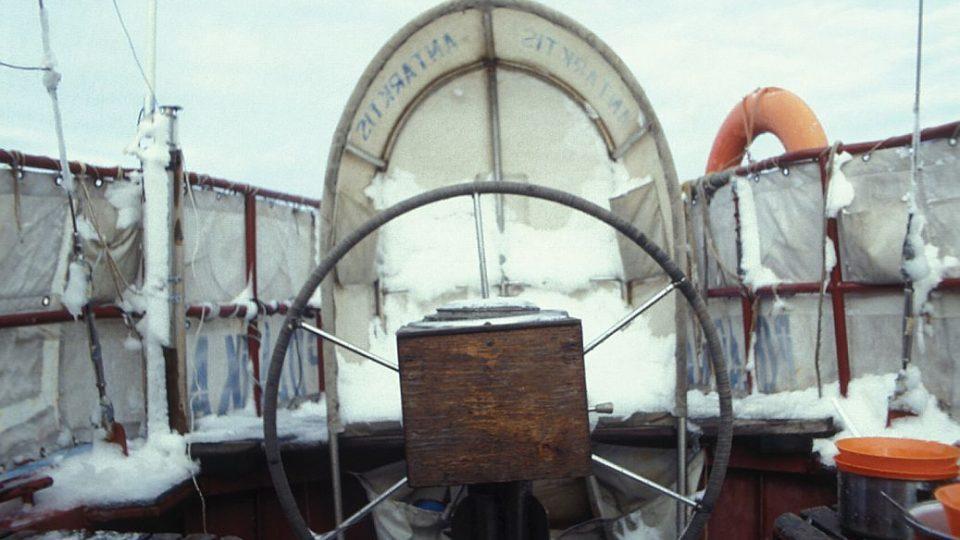Polárka - loď mořeplavce a dřevorubce Rudolfa Krautschneidera