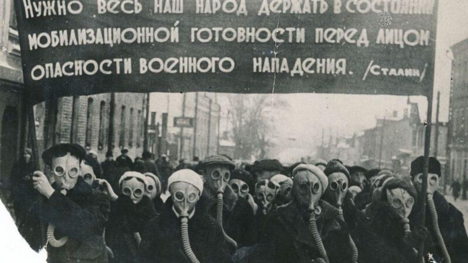 Momentka ze Stalinova Ruska v roce 1940
