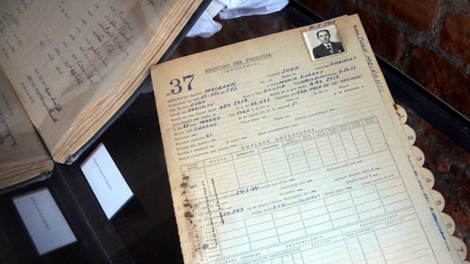 Mezi zaměstnanci cihelny Ctibor bylo hodně přistěhovalců z Československa