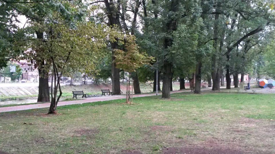 Park Adama Sikory v Českém Těšíně