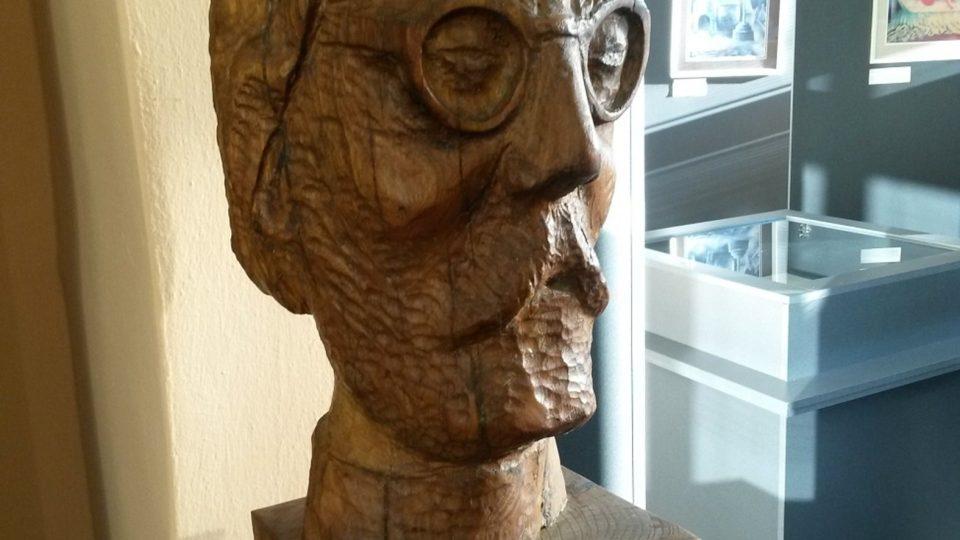 Busta v pamětní síni Jana Zrzavého