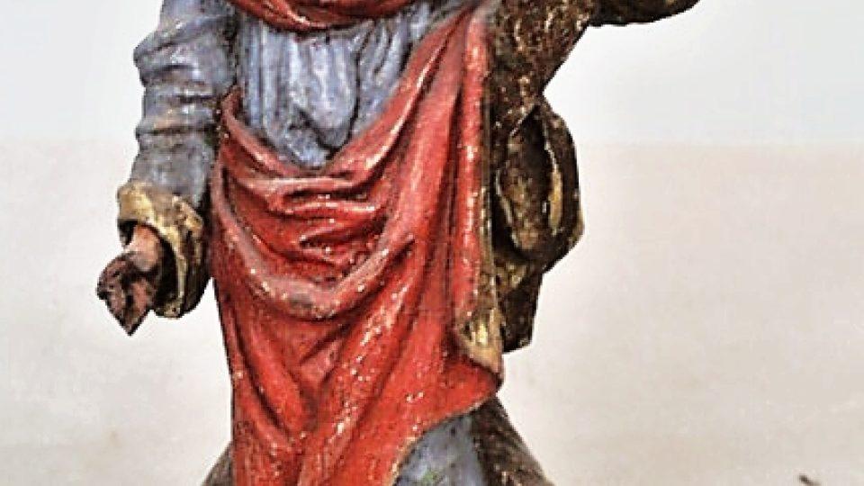 Soška sv. Ondřeje