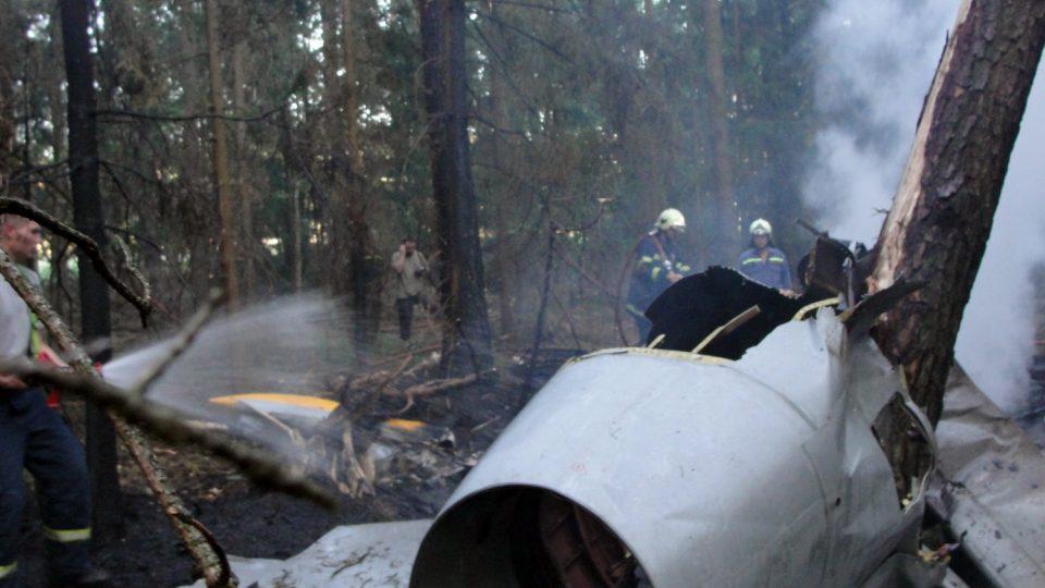 12.7.2010 Nehoda stroje L-39 12.7.2010