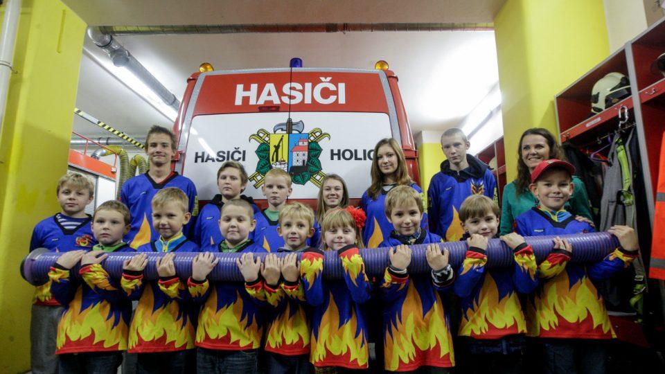 Družstva mladých hasičů